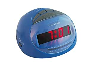 Lloytron Sonata Am Fm Radio Alarm Clock In Blue J2002BL