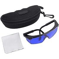 DEWIN Golfball-Finder Brillen-Golf Blue Linsen UV-Schutz Sonnenbrillen mit Aufbewahrungskoffer