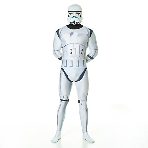 Morphsuits Offiziell Stromtrooper Digital Verkleidung, Kostüm - Xlarge - 5'10-6'1 (176cm-185cm) (Et Fancy Dress Kostüm)