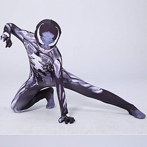 HYYSH Spiderman Venom Clothes Kinder COS Kleidung (Farbe : A, größe : ()