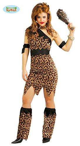 Imagen de disfraz para mujer de troglodita o cavernícola