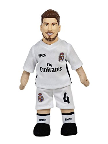 Producto Oficial Real Madrid CF Muñeco Real Madrid CF 2018-2019 Peluche - 25cm - Sergio Ramos 4