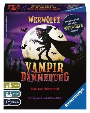 Ravensburger 260034-Werwölfe Vampirdämmerung Kartenspiele