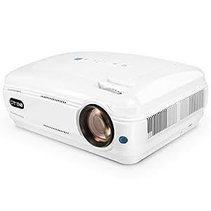 """Vidéoprojecteur, Crenova XPE680 Portable HD 1080P Projecteur de Cinéma Maison LCD 5,8"""" avec Support 2*HDMI/VGA/2*USB/TV/YPbPr Multimédia Vidéoprojecteur pour TV/PC/iPhone/iPad/Xbox"""