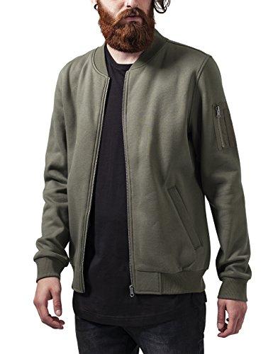 Urban Classics Herren Jacke Sweat Bomber Jacket