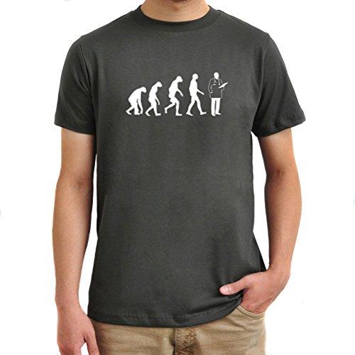 Maglietta Doctor Evolution Argento brunito