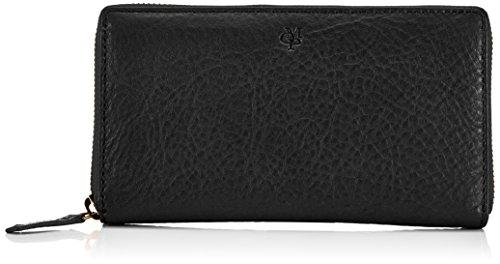 Marc O'Polo ZIP Wallet L, Borsa Donna, 19x9x2 cm (L x A x P) Nero (Schwarz (black 990))