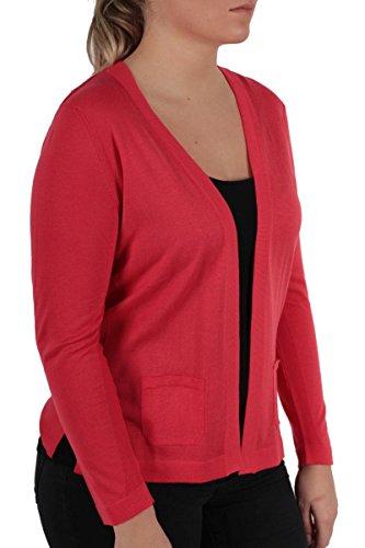 Golle Haug - Gilet - Uni - Femme rouge Rot Rouge