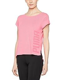 Puma Dancer Drapey Tee Camiseta, Mujer, Fucsia, L