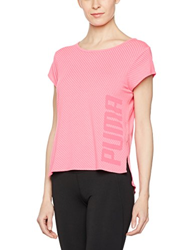 Puma Dancer fille femme T-shirt Knockout Pink Heather/Stripe