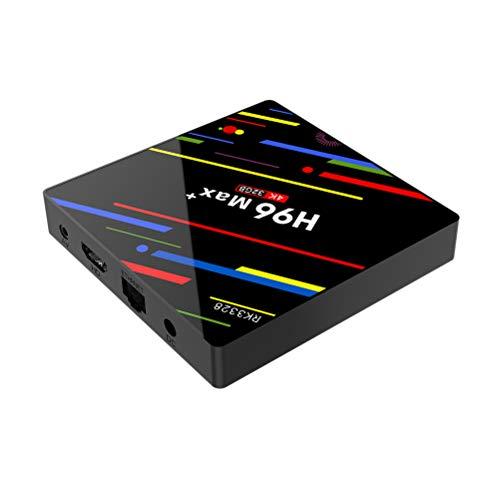 Android 8.1 TV Box 4GB RAM 32GB ROM Set Top Box HDR10 USB3.0 2.4G/5G WiFi 4K H.265 HD Smart Media Player With UK Plug