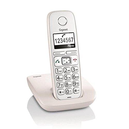 "Gigaset E260 - Teléfono inalámbrico DECT de 1.8"""