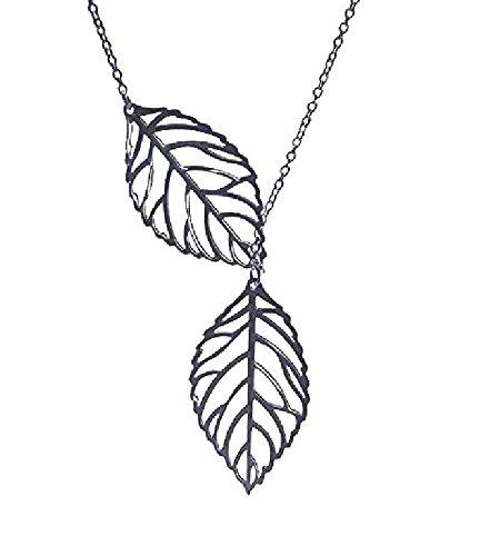 Blatt kragen halskette 2015 gold Kette für frauen schmuck (silber)