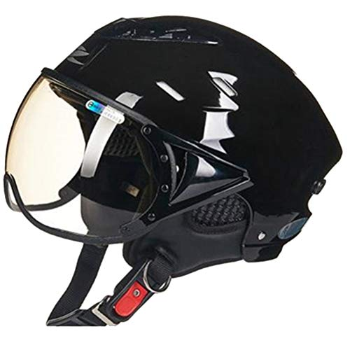 Männer Frauen Motorradhelm Super Atmungsaktiv Gefüttert UV Helm Leichter Komfort Flip Up Motorradhelme Jahreszeiten Universelle Sicherheitskappen -