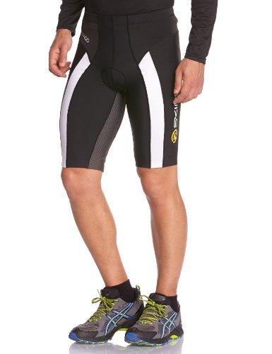 Skins Herren Sportkompressionstextilien Tri 400 Mens Shorts, Black/White, S, T50055009S (Falten-shorts Male Casual)
