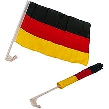 Voiture Drapeau de l'Allemagne. Lot de 2