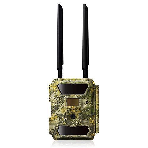 Xwly-Dr 4G caméra de Chasse GPS Wildlife Trail caméra 12MP 1080P HD caméra Infrarouge avec Vision Nocturne et écran LCD pour la Surveillance de la sécurité à l'extérieur et à la Maison