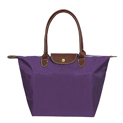 ZhengYue Tragetasche für Damen aus Nylon, Schultertasche Tasche Frauen Stilvolle Wasserdichtes Handtasche Umhaengetasche Strand Tasche