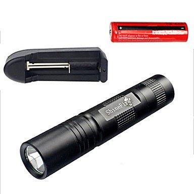 Assemblée lampe torche LED de poche, lampe torche à LED, Super Lumineux 400lumens CREE LED, IP65résistant à l'eau 5modes haute/faible/stroboscopique pour l'intérieur et l'extérieur (Camping, Randonnée, Cyclisme et d'utilisation d'urgence)