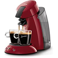 Philips Senseo Original XL HD7818/82 - Cafetera de monodosis, color rojo