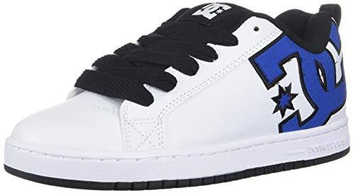 DC Herren Court Graffik Se, Blau/Weiß/Schwarz, 43 EU M (Herren Snow Sneakers)