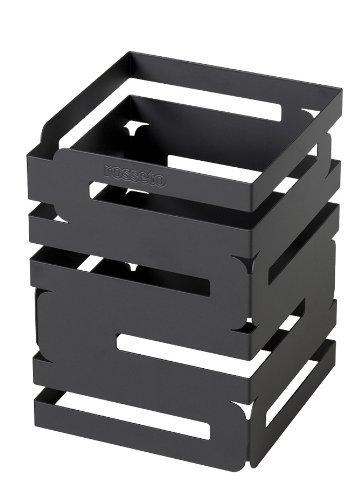 Rosseto D623RB Skycap Multi-Level Buffet Riser, 8-Inch, Black Matte Powder Coated Steel Finish by Rosseto