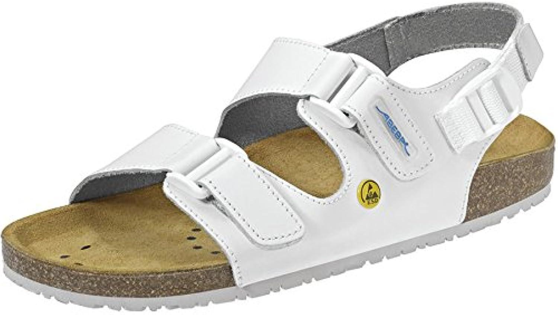 Abeba 4090 ESD - Zapato de trabajo (sin metales, correas en empeine y talón)