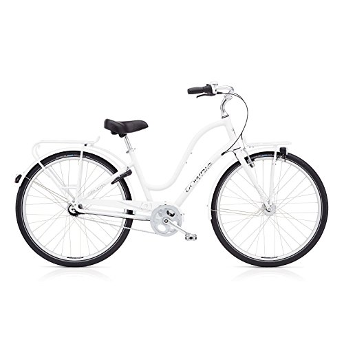 Electra Townie Commute 7i EQ Ladies White mit LED Beleuchtung -