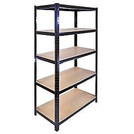 The Shopfitting Shop Heavy Duty 5Livello Boltless Garage scaffalatura Serra Utility Storage Rack 1800x 900x 400