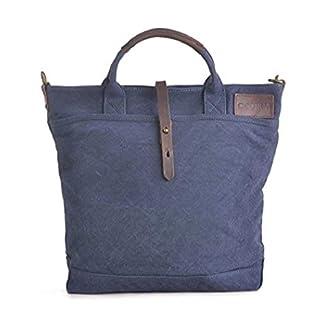 GOOTIUM Bolso de Hombro para Mujer, Azul Marino (Azul) – 60612NV