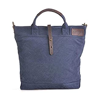 41XglLWeRpL. SS324  - GOOTIUM Bolso de hombro para mujer, azul marino (Azul) - 60612NV