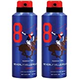 BHPC POLO BLUE DEODORANT SPRAY FOR MEN (PACK OF 2)