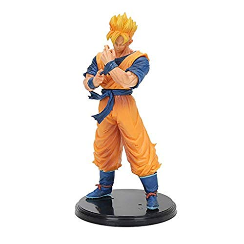 Anime Dragon Ball Modelo Juguete, Adulto Héroe Futuro Goku Father Battle Edition 21cm Colección De Acción Modelo Estatuilla