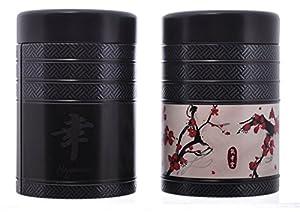 Eigenart Kyoto Lot de 2 boîtes rondes pour le thé 125 g