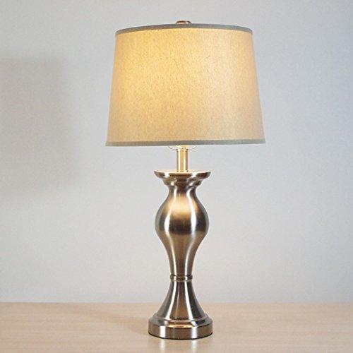 Lampe de bureau Lampe de Table Américaine de Haute Qualité Led Lampe Protection Des Yeux Nuit Lumière Économie D'énergie Bouton Lampe De Chevet