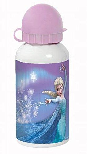 Disney 14395 Elsa Trinkflasche, Aluminium, - Disney Aluminium-trinkflasche