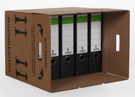 10 Stück Bücherkartons Umzugskartons Basic - 4