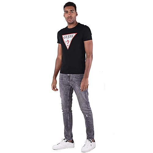 Guess ORIGINAL T-Shirts & Poloshirts Herren Schwarz - S - T-Shirts