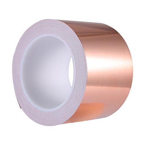 Zalava 70 mm * 20 m Feuille de cuivre ruban adhésif avec adhésif antistatique