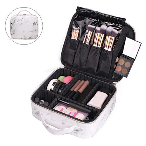 Kapmore Sac cosmétique Sac créatif à compartiments multiples pour sac de maquillage pour voyage