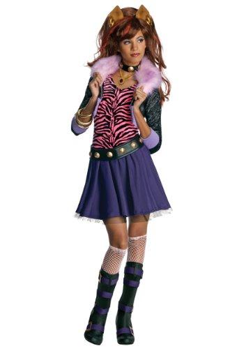 Kostüm Clawdeen Zubehör - Generique - Clawdeen Wolf Monster High Kostüm für Mädchen - Fashionista
