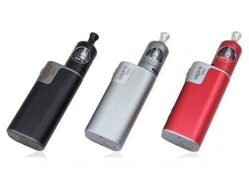 Aspire Zelos E-Zigaretten Set mit Zelos 50 Watt und Nautilus 2 Verdampfer – 2ml – Farbe: