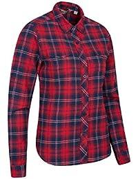 Amazon.fr   chemise - 46   Chemisiers et blouses   T-shirts, tops et  chemisiers   Vêtements e6127fba0c6