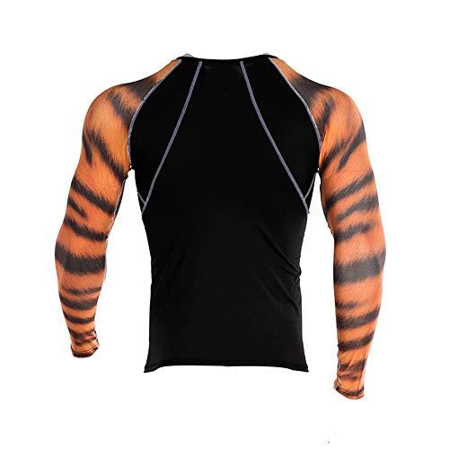 Beonzale Summer Fashion Herren Yoga Fitness Soft T-Shirt Schnelltrocknende Sport Druck Top Bluse Slim-Fit Training Geeignet Für Workout The North Face Thermal Pullover