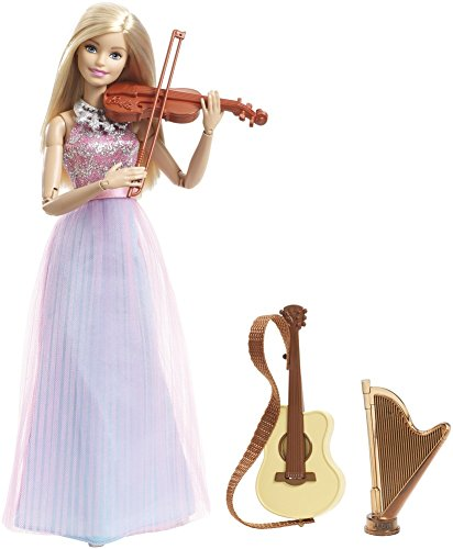 Barbie Doll and Instruments, Multi Color