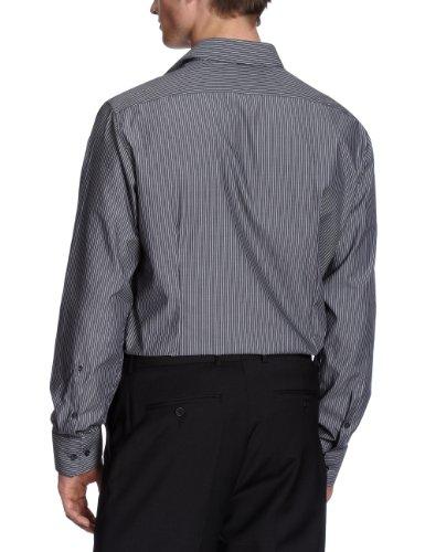 Schwarze Rose - Camicia Classico, Uomo Nero (Schwarz (38 schwarz))
