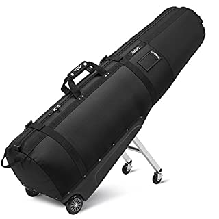 Sun Mountain ClubGlider Journey Wheeled Travel Cover Black Black