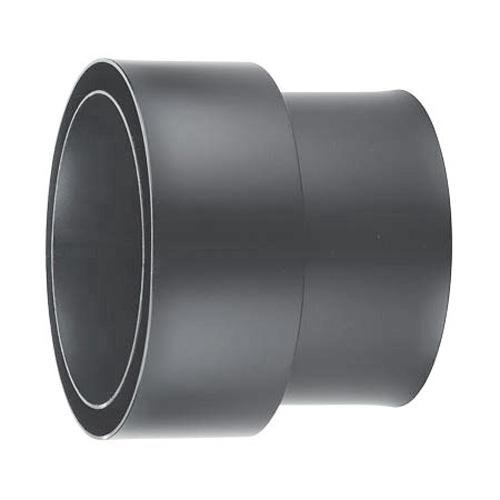 Doppelwandige Rauchrohr (Möck Anschlussstück für doppelwandige Rauchrohre, System Primus, 120 mm Gussgrau)