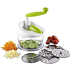 TheKitchenette DECOUPE LEGUMES 19 CM Plastique ET INOX The KITCHENETTE