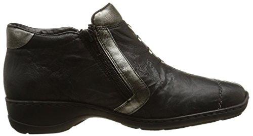 Rieker - 58360-00, Sneakers da donna Nero (noir combiné)